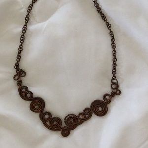 Hand Made Copper Necklace